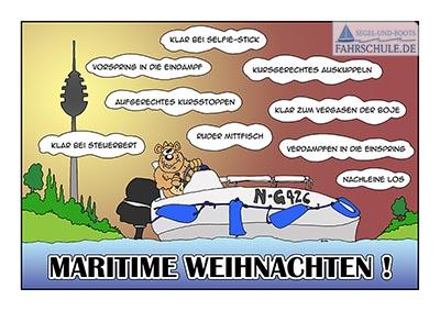 Maritime Weihnachten segel-und-bootsfahrschule.de